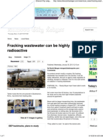 Fracking Wastewater Can Be Highly Radioactive - Ellwood City Ledger_ Local News