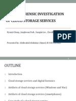 Abdiwahid2013 Cloud Forensics