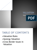 Presentation on Valuation PGP16