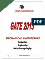 BE Notes Prod Engg MetalForming Forging