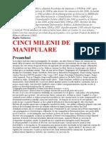 Teodorescu, Bogdan - 5 Milenii de Manipulare v.0.1