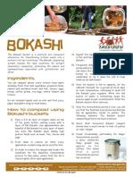 Factsheet - How to Bokashi