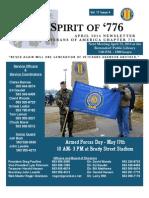 Vietnam Veterans of America Chapter 776 April 2014 Newsletter
