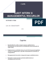 Gabi RADU II Audit