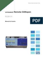 WEG Ruw01 Manual Unidade Remota Canopen 10000301331 Manual Portugues Br