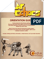 FREE Solar Echoes Orientation Guide