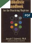 60148970 Un Manual Cabalistico Para El Mago Practicante Joseph c Lisiewski Ph d