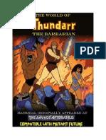 World of Thundarr Final