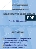 OSTEOARTHRITIS-Ýngilizce