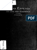 Life and Teachings of Abbas Effendi by Myron H. Phelps (1912)