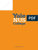 Yale Nus College Curriculum Preview