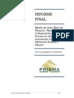 LÃ-nea de Base Proyecto Nutrición FAVM(1)