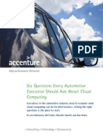 Accenture Global Auto Six Questions Cloud POV