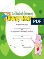 Happy Hearts 2 Cert