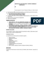 Requisitos de Presentacion de Proyectos de Losas y Centros Comunales
