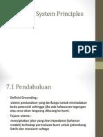 Grounding System Principles