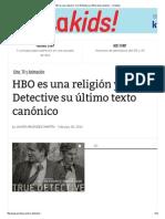 HBO es una religión y True Detective su último texto canónico - Yorokobu
