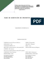 PROGRAMA DIDÁCTICO FASE DE EJECUCIÓN DE PROYECTOS EDUCATIVOS