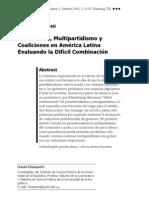 2002 Chasquetti Latinamerika Analysen