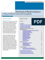 Retail Analytics Trends