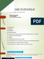 L'énergie Hydraulique 2