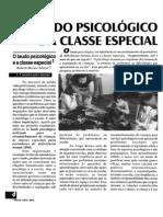 o laudo psicológico e a classe especial