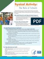 factsheet pa guidelines schools