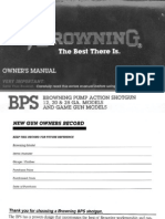 Browning BPS owners manual