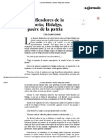 Pedro Salmerón - Falsificadores de la historia; Hidalgo, padre de la patria