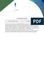 Tech 3BSI Automatique Ects