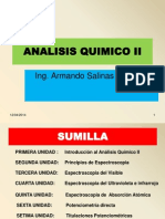 Diapositivas Analisis Quimico II 2014