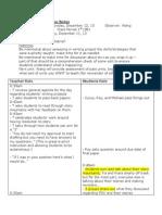 coaching observation notes dec 2014