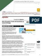 Jairo Arenazio_ O mito do hormônio na carne de frango - 31_03_2014 - Opinião - Folha de S