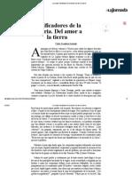 Pedro Salmerón -  Falsificadores de la historia, del amor a la tierra