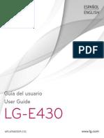 LG E430 Optimus L3 II Guia de Usuario