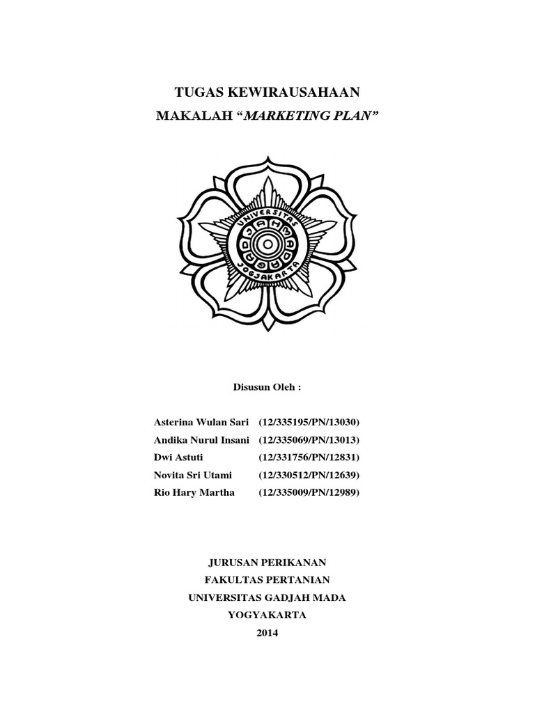 Makalah Marketing Plan