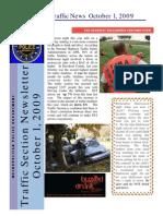 Traffic News October 1, 2009