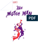 the music man piano and vocal sheet music