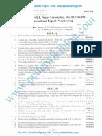 Biomedical Signal Processing Jan 2014