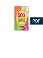 500 Vegan Recipes - Celine Steen