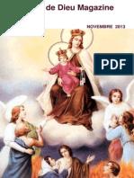 La Voix de Dieu Magazine Novembre 2013