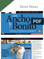 Mis Mejores Recetas Con Anchoas y Bonito de Inigo Perez