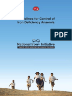 10. National Iron Plus Initiative Guidelines for Control of IDA