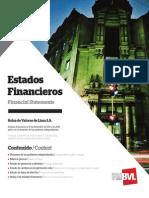 BVL Memoria2012 EstadosFinancieros