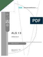 Addendum ALS13 - Manual Ed.002 - MN.00169.E