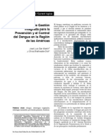 Estrategia de Gestion Integrada DENGUE