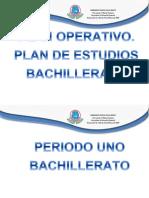 Plan Operativo 2014 Areas Basicas Bachilerato