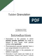 Tablet Granulation