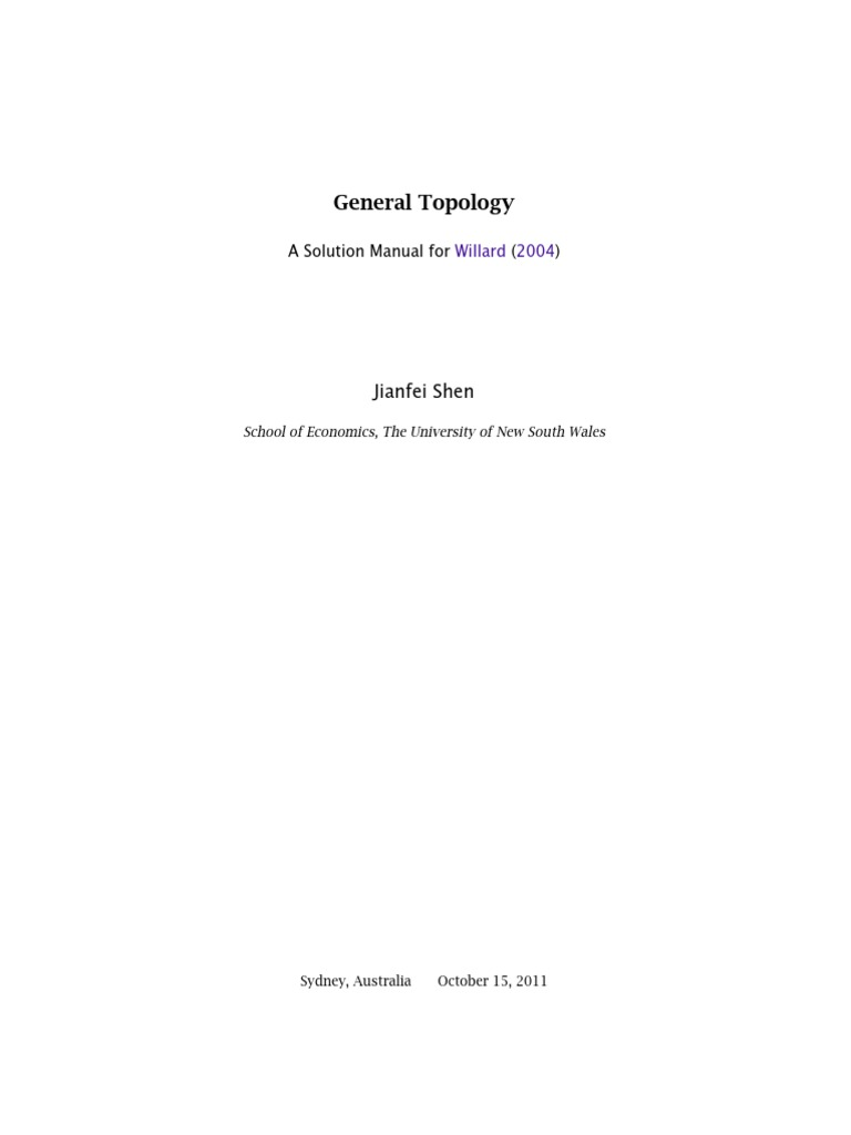 willard general topology solutions continuous function norm rh scribd com