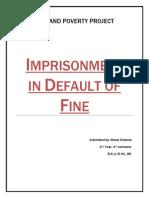 Imprisonment in Default of Fine